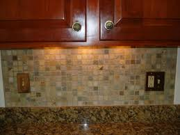 classic kitchen ideas with brown gray lowes mosaic glass tile