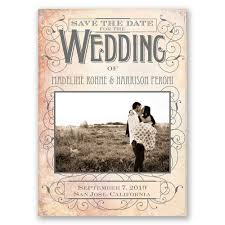Rustic Save The Dates Sweet Antique Date Magnet