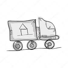 100 Moving Truck Clipart Drawing At GetDrawingscom Free For Personal Use
