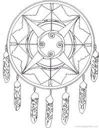 Native American Indian Coloring Books And Free Pages