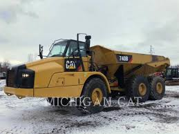 100 Dump Trucks For Sale In Michigan Caterpillar 740B T For Sale Novi MI Price US 309908 Year 2014