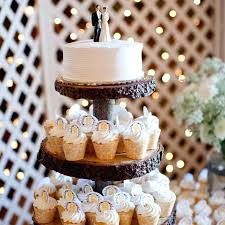 Rustic Cake Stand Stands For Wedding Cakes With Gold Cupcake Vintage