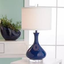 Ceramic Table Lamps For Bedroom by Blue Table Lamp Image With Amusing Blue Bedside Lamps Canada Duck
