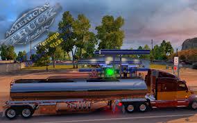 100 Truck Fuel Tank USA 10 ATS Mods American Truck Simulator Mods