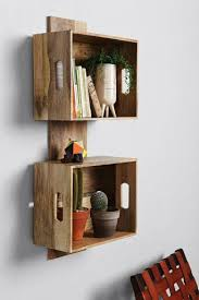 4040 Locust Stacked Crate Wall Shelf Urban Outfitters Make This With Scrap Wood