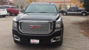 100 Yukon Truck 2017 GMC Denali 4WD Head Up Display Black Oshawa ON Stock