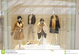 Fashion Boutique Clothing Shop Window Dress Store