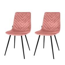 esszimmerstuhl pink 2er set