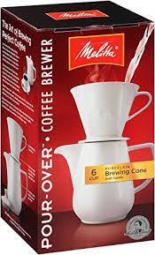 Melitta Porcelain Gourmet Coffeemaker 1 Count