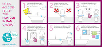 wohnung küche bad und wc richtig putzen