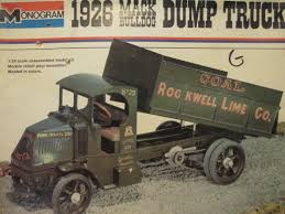 Monogram 1/24 1926 Mack Dump Truck (parts Kit) Vintage For Sale ...