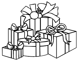 Gift Coloring Pages 1