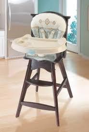 amazon com eddie bauer classic wood high chair colfax baby
