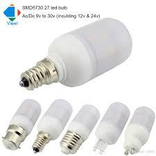 10x ac dc 12 volt led bulb e27 e12 e14 b22 g9 gu10 cron l 12v