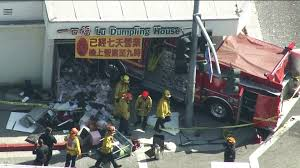 15 Hospitalized After 2 Fire Engines Crash In Monterey Park   KTLA Who Will Drive The For Driverless Fire Trucks Ambulance And Fire Truck Accident Royaltyfree Video Stock Tesla Model S Reportedly On Autopilot Crashes Into At Video Crashed I84 15 Hospitalized After 2 Engines Crash In Monterey Park Ktla With Tx Apparatus Leaves One Serious Firehouse Team Of Firefighters By Firetruck On Accident Location Stock Brenham Firetruck Involved In Accident While On Way To Fire Call Ambulance Crash Miami Bomberos Accidentes Two Hurt Vehicle Later Catches Cedar Springs