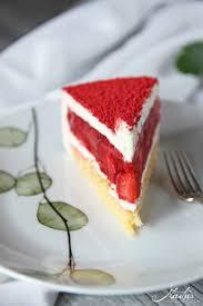 erdbeer vanille torte fraisier de cyril lignac maren