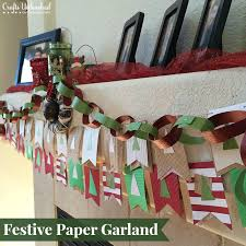 Festive Paper Garland Crafts Unleashed 1