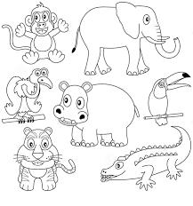 Zoo Para Colorear E Imprimir
