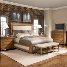 Bedroom Oak Wood Flooring Plans For Ideas Feat Agereeable Bed Set With Wooden Bench