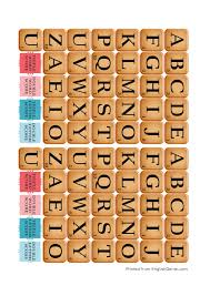 printable scrabble english genie