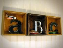 SALE Kids Room Decor ABC Boxes 6x6 Wall Or Shelf 3D By J3decor 13995