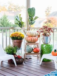Inexpensive Screened In Porch Decorating Ideas by Cozy And Colorful Fall Porch Decorating The Home I Create