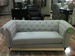 gray velvet tufted sofa hereo sofa