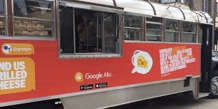 Google Continues Allo Marketing With Swag And Grilled Cheese Food ... Food Truck Experiifoodtruckrentalblog Food Truck Rental And Experiential Marketing Tours Fight Mobile Kitchens Battle For Locations Customers Chickfila Rolls Into Athens Athensnews Redandblackcom Trucks By Advark Event Logistics Trucks Vegas Style Vality Nutrition For Sale Trailers Vehicles Expvehicles Promotions Hollywoods Productions Adds More Units Business Owners Need To Focus On In 2017 Principles Final Project Specialty Kell This Was Used In A Music Video Melanie Black