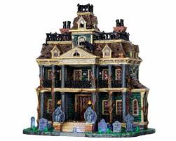Lemax Halloween Village 2017 by Lemax Spooky Town Gothic Haunted Mansion With Adaptor 15199