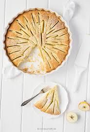 apfel marzipan kuchen mit äpfeln aus omas garten