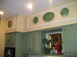 Kitchen Soffit Trim Ideas by Magnificent Kitchen Soffit Ideas Use Crown Molding And Cabinet