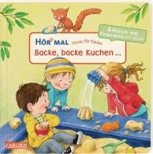 hör mal soundbuch verse für kleine backe backe kuchen