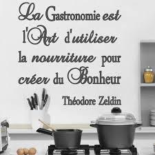 sticker citation cuisine dicton cuisine stickers stickers muraux citations citation