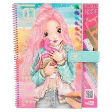 Album De Coloriage Top Model Maquillage Jeux éducatifs
