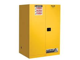Flammable Liquid Storage Cabinet Location by Flammable Cabinet 90 Gal 2 Shelves 2 Doors Justrite