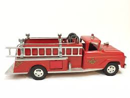 1958 TONKA #5 PUMPER FIRE TRUCK | Tonka Profit With John Venheim ... Tonka 1964 Fire Truck Hydrant 100 Original Patina One Owner Nice Vintage 1955 Tonka No 950 6 Suburban Pumper Fire Truck With Fire Truck On Shoppinder Metal Firetruck Vintage Articulated Toy Superior Auction 5 Water 1908254263 Suburban 1963 Paint Real Dept Hose Ladder Tfd A Sliding Ladder Vintage Toys Hydrant Wwwtopsimagescom Toys 1972 Aerial Photo Charlie R Claywell