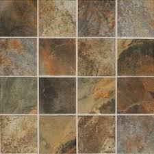 American Olean Quarry Tile by American Olean Kendal Slate Glazed Porcelain Slate Look