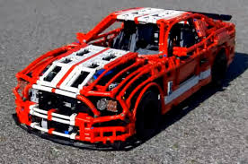 Video This amazing functional Shelby GT500 is built entirely out