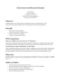 Sample Government Resume Federal Cover Letter Samples Job Resumes Example Template Medium Free