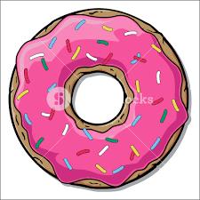 Cartoon Donut Illustration