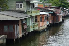 100 Homes In Bangkok Houses Lining The Mon Canal Khlong Mon In May