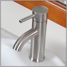 Brushed Nickel Bathroom Faucets Single Handle moen bathroom faucets single handle bathroom home decorating