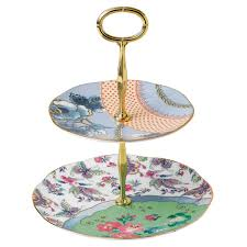 Butterfly Bloom 2 Tier Cake Stand Wedgwood