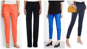Summer Dress Pants In Cotton Pique