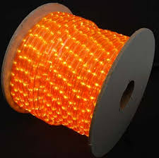 Amber and Orange Rope Lights