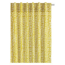 Amazon Curtains Living Room by Absolutely Smart Patterned Curtains Trene Pair Of Yellow 145 X