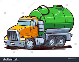 Septic Truck Sewage Stock Vector (Royalty Free) 248733391 - Shutterstock