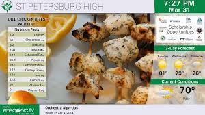 cuisine tv menut simply stunning digital menu boards eyeconic tv