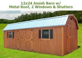 amish barns bunce buildings