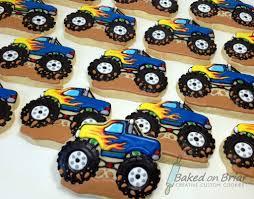 100 Monster Truck Cookies Allison Quirk Barrett Flickr